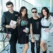 Christian Craven, Ashley Burkhardt, Cande Acosta, Amanda Embry at Simply Stylist
