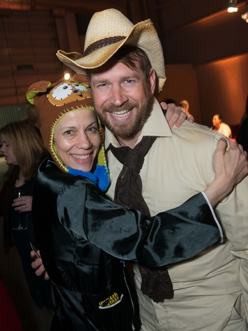 Jane Weiner and Jeff Shell at the Hope Stone Gala March 2014