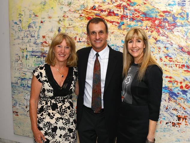 Holly Mayer, Lucilo Pena, Nancy Carlson