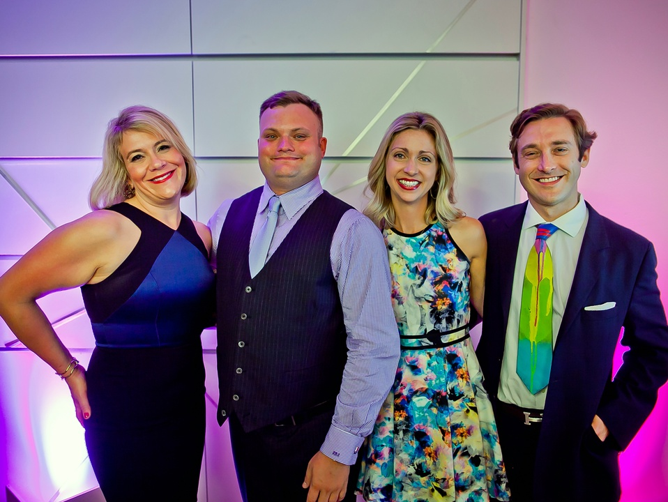 Houston, Blaffer Art Museum Color Splash Gala, April 2017, Michelle Plythe, Seth Blaffer Johnson, Meredith Hedemann, Travis Hedemann