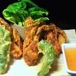 Houston, soft shell crab dishes, June 2017, Karaage at Kata Robata