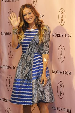 Sarah Jessica Parker at Nordstrom Galleria