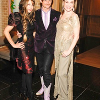 News_Vogue at Becca_Feb. 2010_Gela Nash-Taylor_Hamish Bowles_Becca Cason Thrash