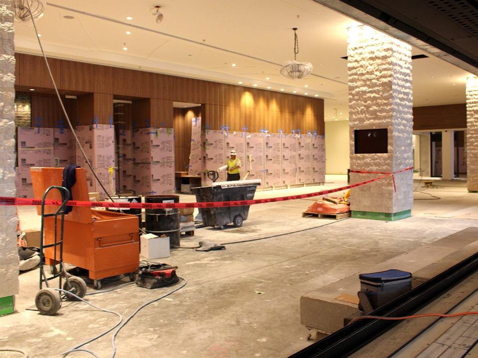 JW Marriott Austin Preview - Foyer - December 8 2014