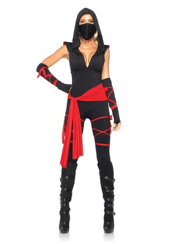 Deadly ninja Yandy costume