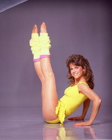 Jane Fonda workout