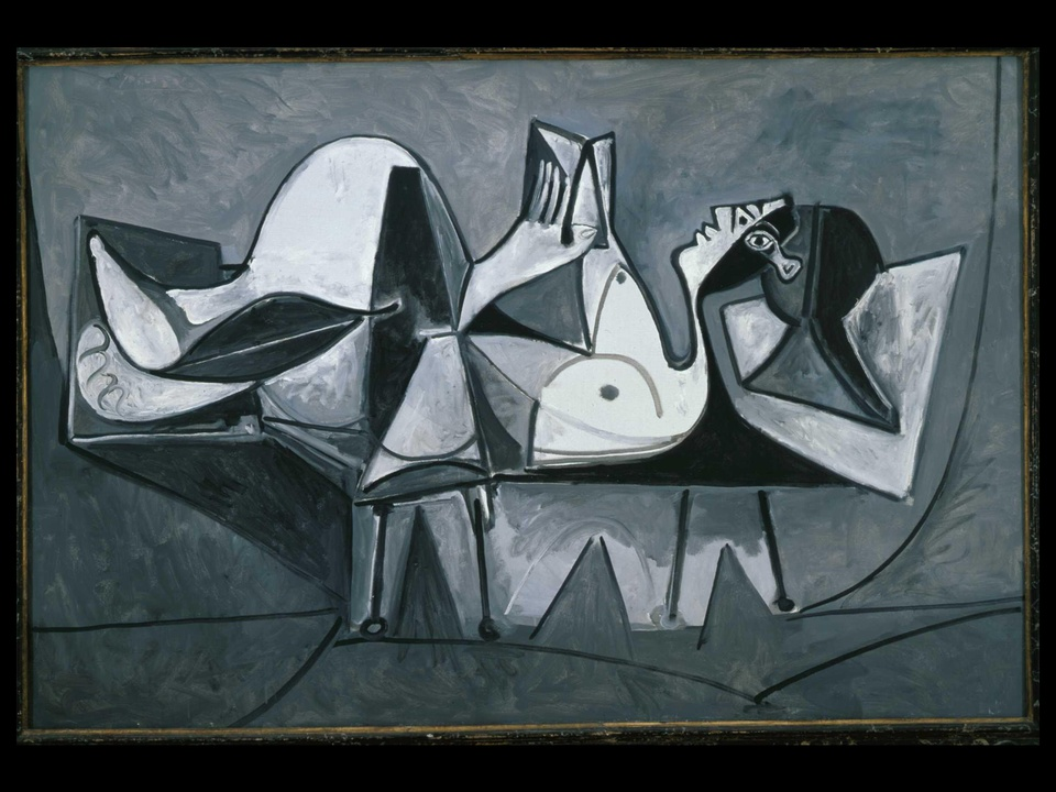 MFAH, Picasso, Reclining Woman Reading