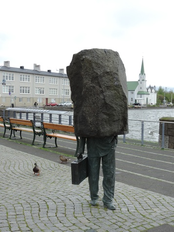 Tarra Gaines Iceland December 2014 Public art & water fowl of Reykjavik