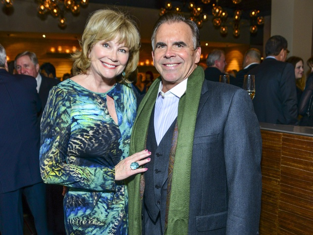 6 Jan and Tim Connolly at Vallone's opening party November 2013