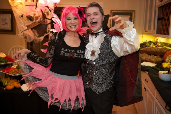 Roland Garcia annual Halloween party, October 2012, Cindi Rose, Roland Garcia