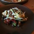 Dosi Korean restaurant charred vegetables