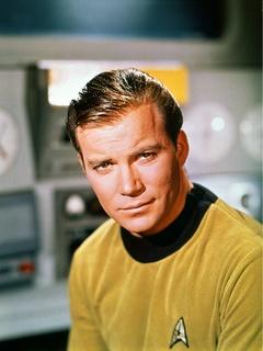 William Shatner as Captain James T. Kirk