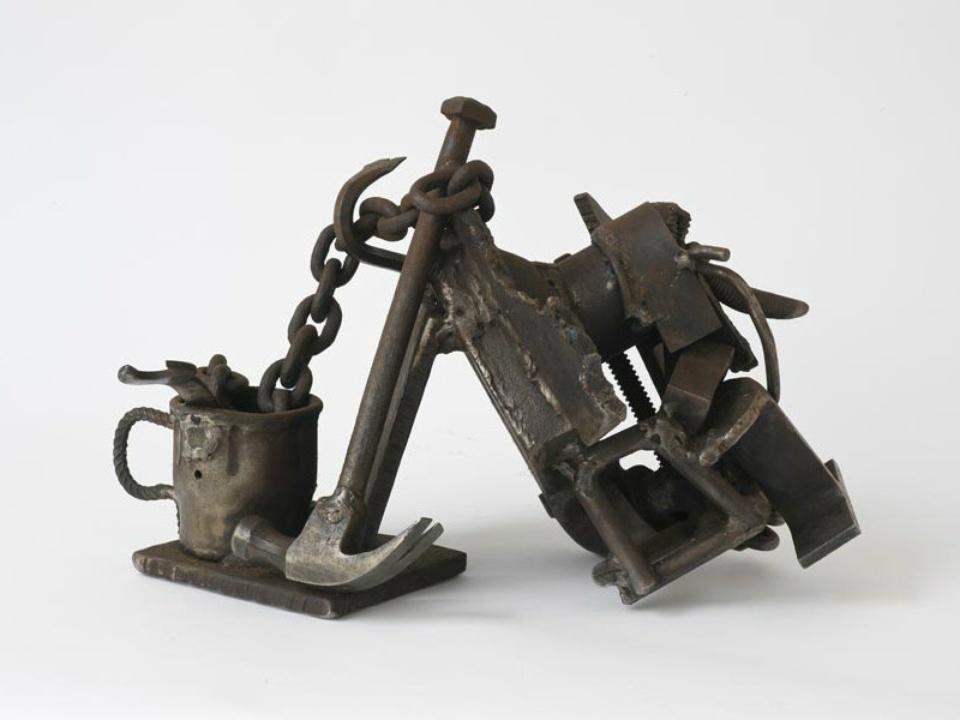 Melvin Edwards Steel Life, 1985–91, Welded steel