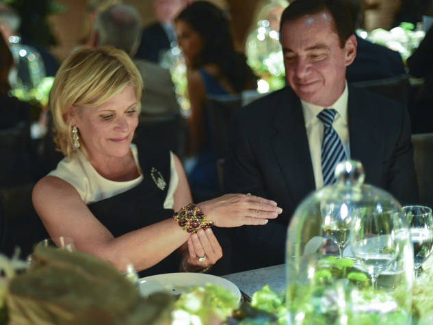 26 Kelli Blanton and Mike Mayell at the Cason-Thrash Bulgari dinner April 2014