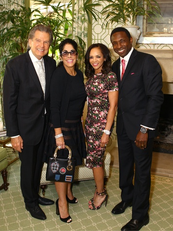 Jimmy and Sue Gragg, Cassandra and Avery Johnson, Just Say Yes Luncheon