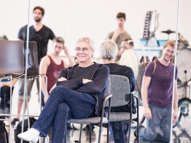 Houston Ballet A Midsummer Night's Dream September 2014 Artists of HB and John Neumeier - Rehearsal