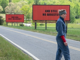 Frances McDormand in Three Billboards Outside Ebbing, Missouri