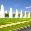 Cane Island in Katy renderings November 2014 fountains near entrance
