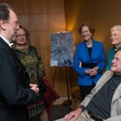 8 Riccardo Chailly, left, with George H.W. and Barbara Bush at the Leipzig Gewandhaus reception November 2014