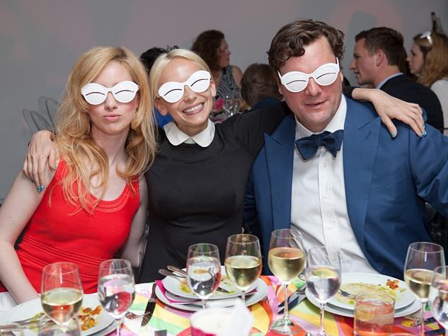 107 Kaleta Blaffer Johnson, from left, Tracey Langfitt and John Blaffer Royall at the Blaffer Gala May 2014