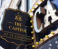 The Capitol at St. Germain, sign