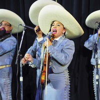 Mariachi Michoacan at Go Tejano Day at Houston Rodeo March 2014