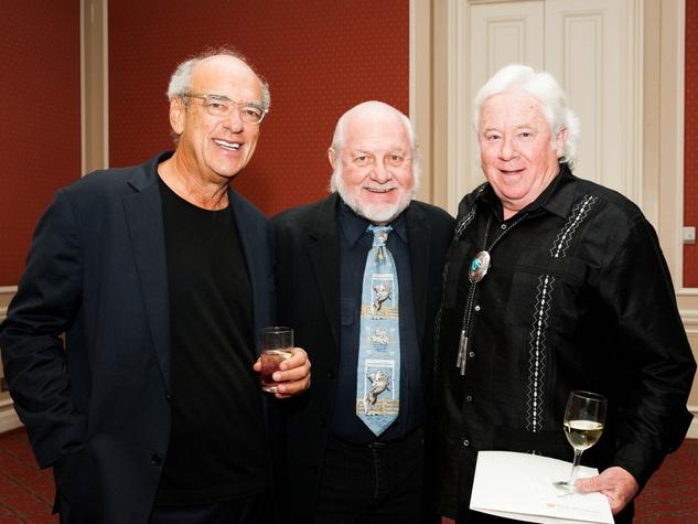 "Shep Gordon, Bob ""Daddy-O"" Wade and Dan Bullock at Lone Star Film Festival Ball"