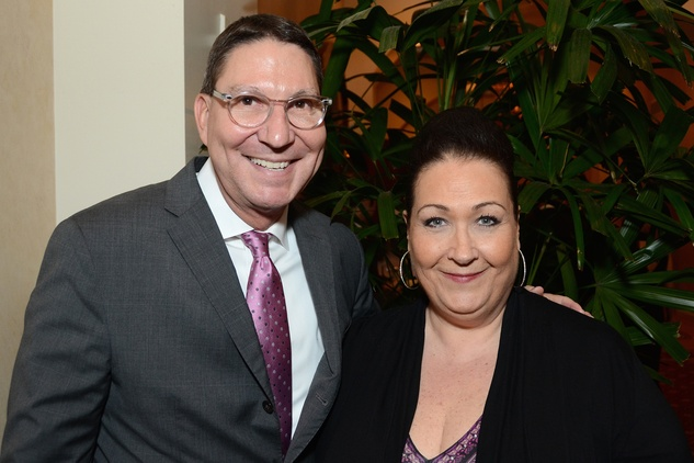 62 Scott McClelland and Cleverley Stone at the Houston Food Bank dinner April 2014