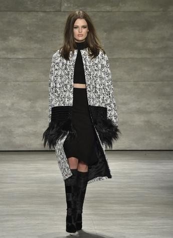 Clifford Fashion Week New York fall 2015 Pamella Roland March 2015 Look 11