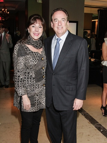 Elizabeth and Alan Stein at the Knowledge Arts Foundation dinner November 2013