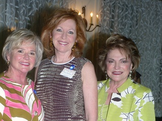 1 Billie Sue Parris, from left, Nancy Strohmer and Beth Wolff at the Women's History Month event March 2014