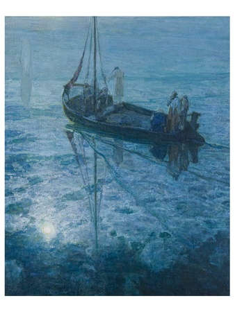 Museum of Fine Arts, Houston, Henry Ossawa Tanner,  Modern Spirit, October 2012, The Disciples See Christ Walking on the Water