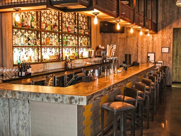 Houston, Bradley's Fine Diner Bar, June 2015
