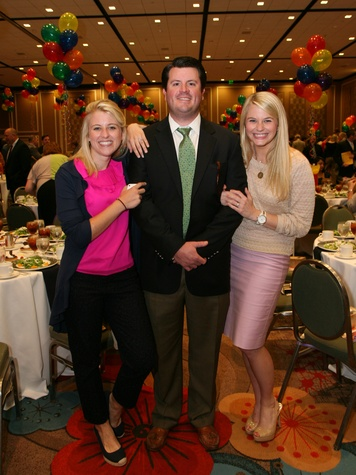 Brooke Renkes, Ryan Dale, Haley Dale, Pot of Gold Luncheon