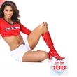 most beautiful NFL cheerleaders, Houston Texans cheerleaders, Danielle, December 2012