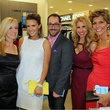 Holly Quartaro, Courtney Kerr, Stuart Boslow, Jennifer Cloutier, Dawn Mellon, Belk Grand Opening Celebration