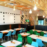 Chi'Lantro Barbecue BBQ_Lamar location_interior_construction