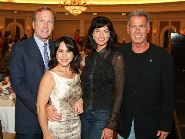 News_&#39;80s Supermodels luncheon_April 2012_Neil Bush_Maria Bush_Joan Severance_Jack Scalia