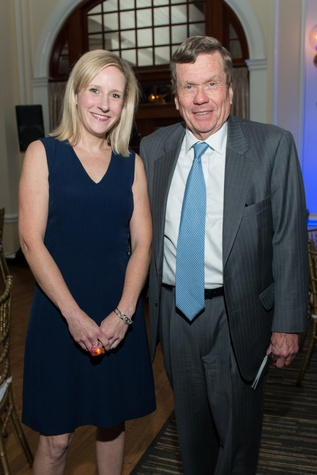 Elizabeth Kennedy, Richard Mithoff at AVDA Gala