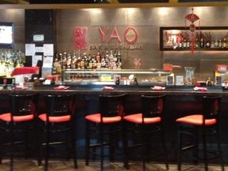 Yao Bar & Sushi Bar, downtown, Houston Pavilions