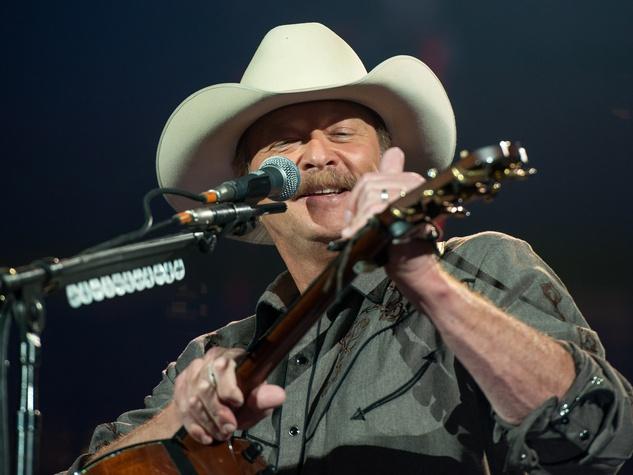 Alan Jackson rodeo
