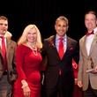 Montgomery County Go Red for Women 2015 Brian Salby, Dr. Ann Snyder, Lonny Soza, Dean Burden