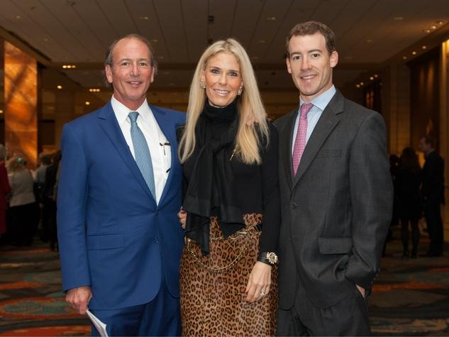 Leo Corrigan, Susie Corrigan, DeWitt Corrigan at Living Legend Luncheon with George W. Bush