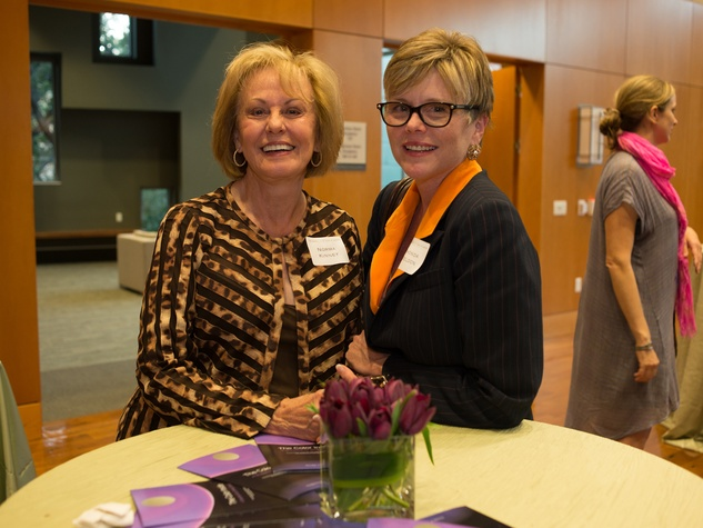 Private Reception Honoring James Turrell Norma Kinney; Rhonda Wheldon