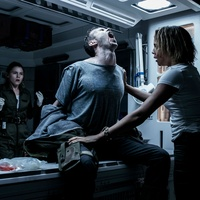 Amy Seimetz, Benjamin Rigby, and Carmen Ejogo in Alien: Covenant