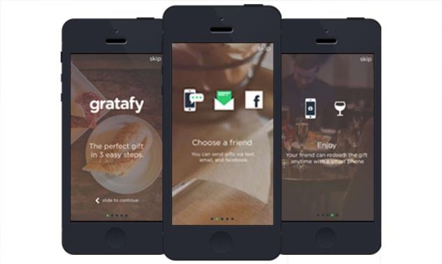 Gratafy gift app