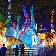 Houston, Magical Winter Lights, November 2015, dinosaur lanterns