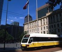 DART rail downtown Dallas