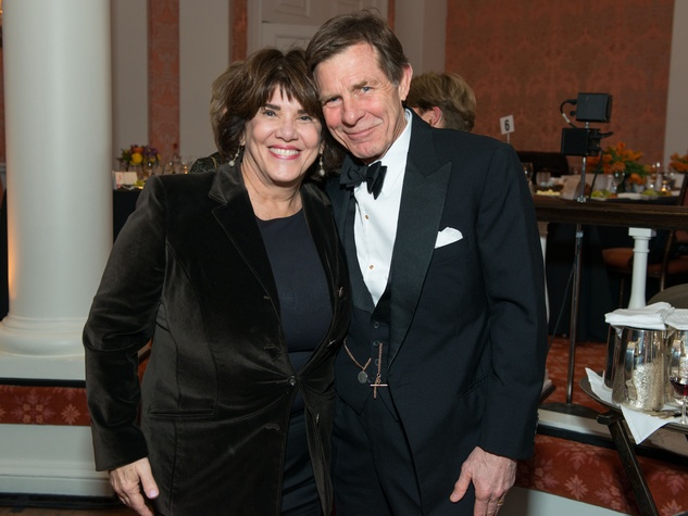 16 Lynn Hudson and Mack Fowler at the Inprint Ball February 2015