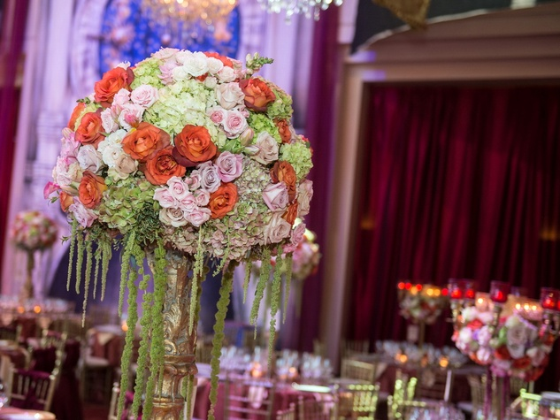 Houston, Houston grand opera ball, April 2017, flowers